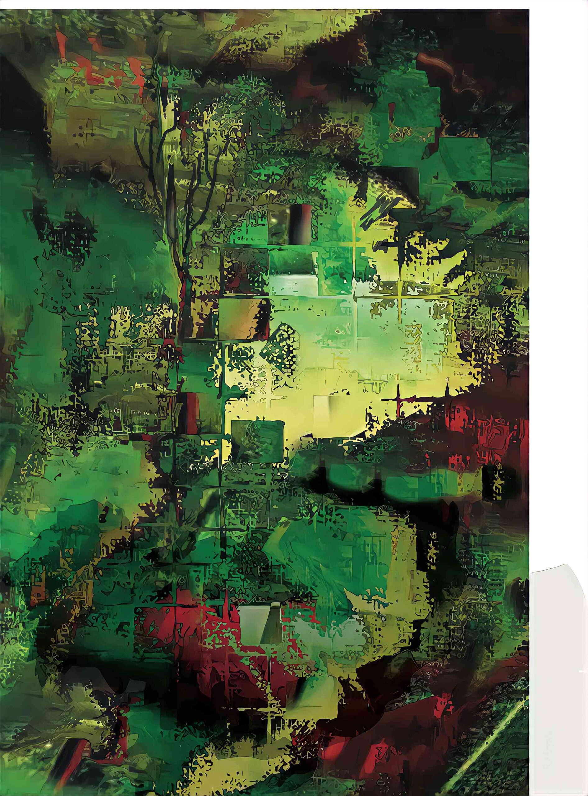 Galerie Ode aan Huub / Forrest living /Free hand / Solid dream